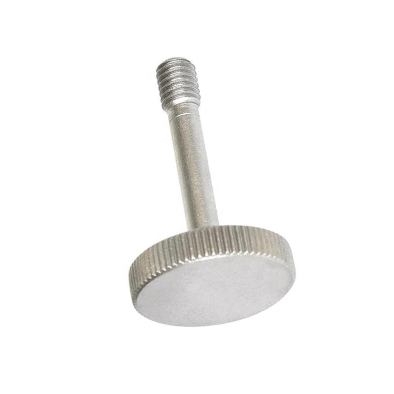 Factory Direct Plastic Flat Round Head Knurled Knob Thumb Screws