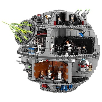3803 Pcs DIY Star Series Wars Force Waken UCS Death Star Toys Building Blocks Bricks Kids Toys Christmas Gifts