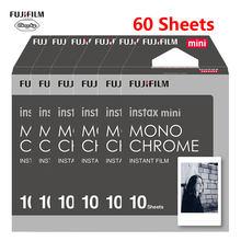 Fujifilm Instax Mini Film 10-60 листов черно-белая монохромная пленка для Fujifilm Instaxmini 8 7s 25 50s 9 мгновенная камера(Китай)