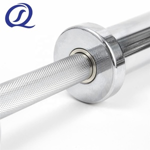 OB 20 Gymnastic Chromed Hand Grips Barbell Bar Dumbbell Handle