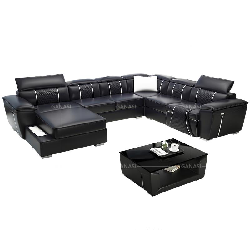 Style Modern Furniture Reclining Sofa