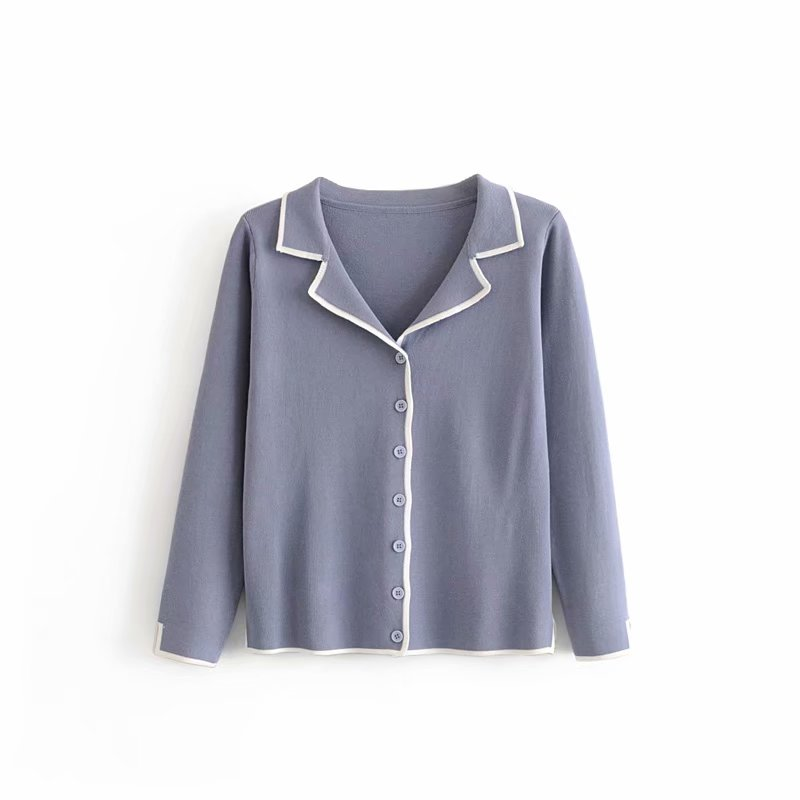 Wholesale beautiful fashion new design 4colors <strong>cardigan</strong> knit loose designs sweater for women