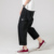 2019 new men Loose Straight Falling feeling Big pocket trousers Breathable fashion Leisure Wide leg Cargo pants