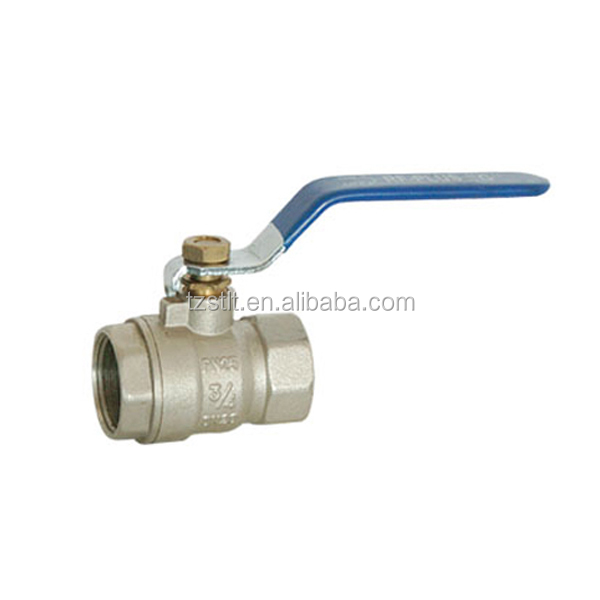 Europe popular PN25 brass ball valve