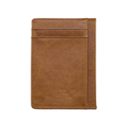 Color Wallet Brown Also Can Customize According To Your Request New Color Genuine Leather Card Holder Wallet