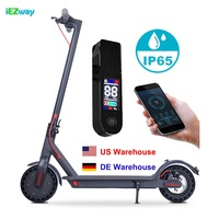 Hot Sale Two Wheel Waterproof Kick Electric Scooter Steps For Teenager