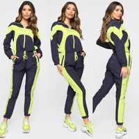 Wens FREE LOGO CUSTOMIZATION Two Piece Set Women Clothing woman Joggers women sweatsuit CUSTOM SWEATSUIT