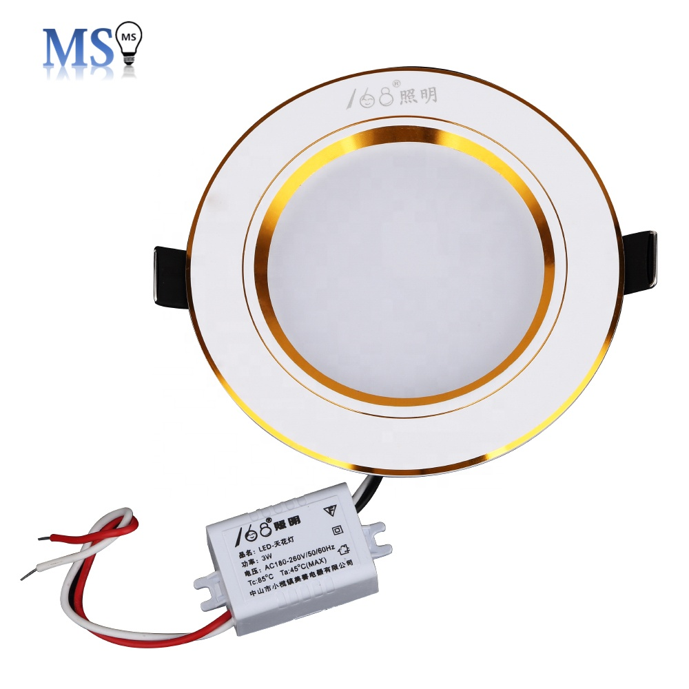 Factory supply recessed round 5w down light
