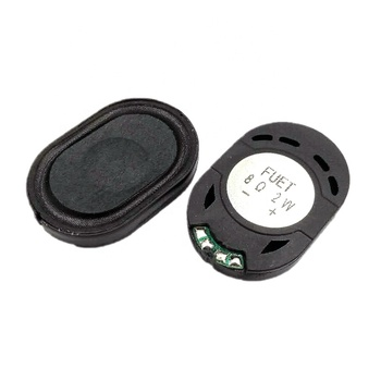 Acoustic Speaker 2030 3020 Oval Tablet Phone MP3 Speaker 2 W 8 R 30*20*4.7MM With Wires