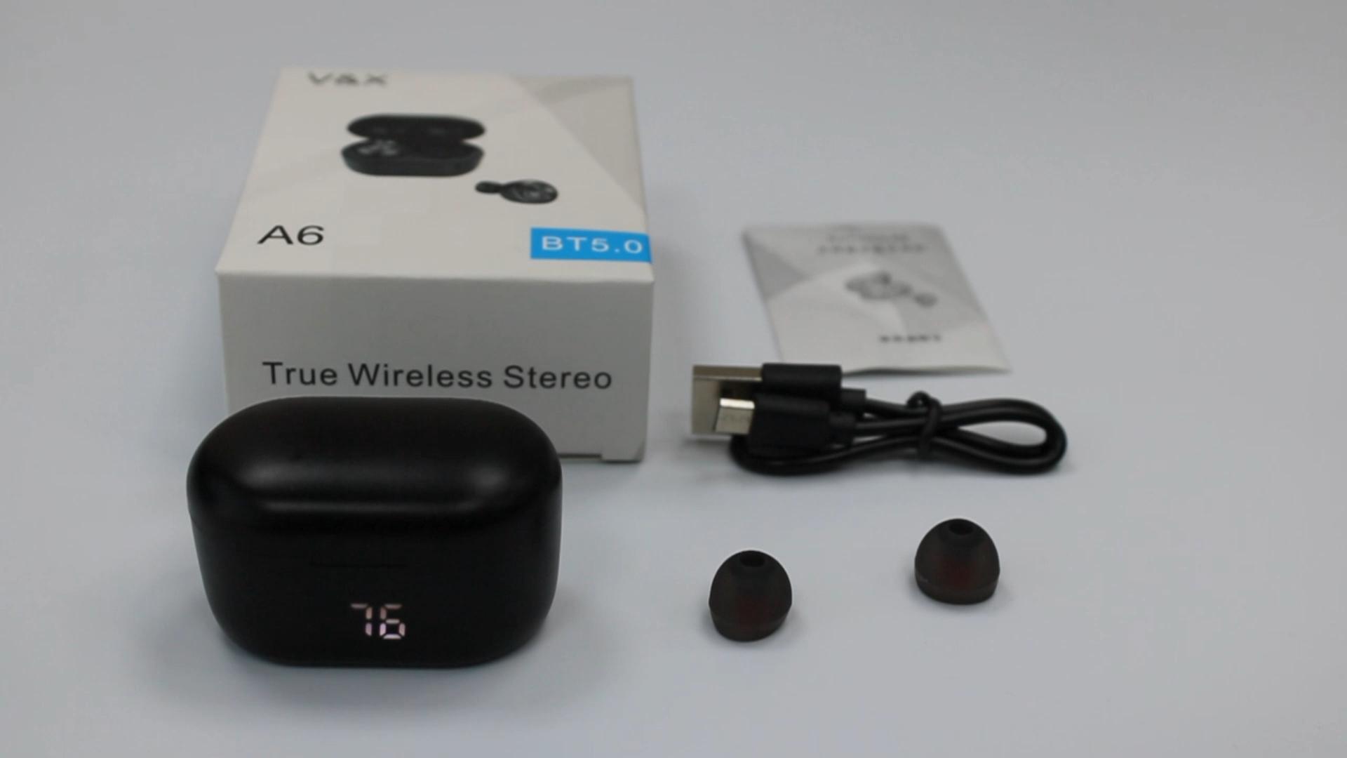 Kopfhörer auf lager Drahtlose Bluetooth 5,0 Gaming Headset TWS Drahtlose Kopfhörer mit led-anzeige