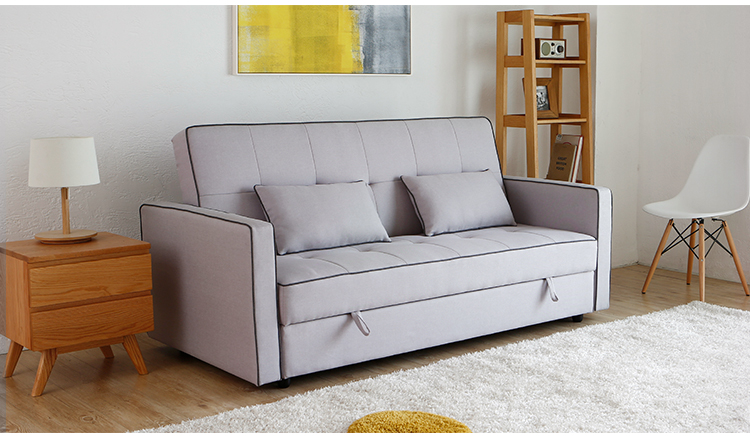 Europäischen Stil 3 Sitzer Schlafen Sofa Bett Mit Lagerung ...