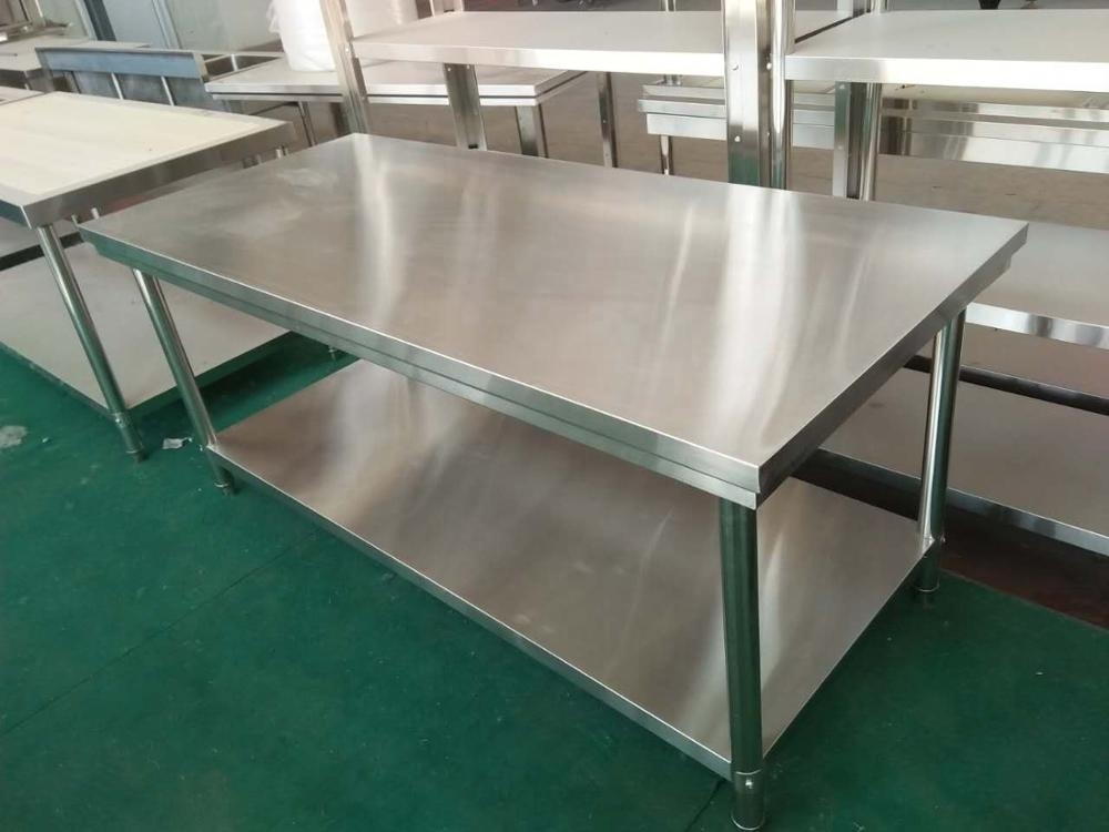 Work Table Bench for Food Factory or Restaurant stainless steel workbench