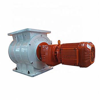 Cheap flow control Rotary rotary airlock valve for sugar