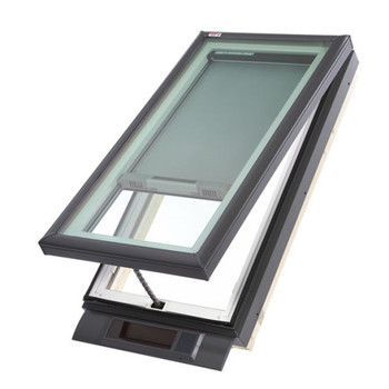 Top Window Top Quality Thermal Break Low E Tempered Laminated Glass Skylight Roof Window Automatic Skylight