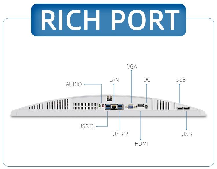 Ngân Sách 2020 Trong-Tel Bộ Vi Xử Lý Ssd Core I7 500G Máy Tính Để Bàn Tất Cả Trong Một Máy Tính