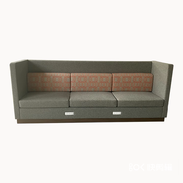 Hampton Inn Large High Back Sofa livingroom lobby furniture