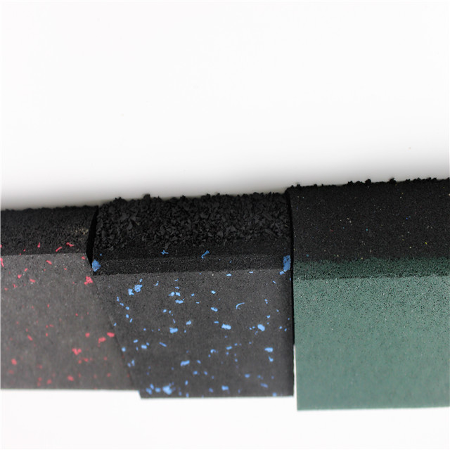 EPDM particle Rubber floor suppliers shock absorbing floor mats