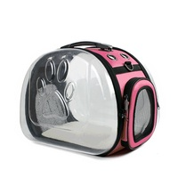 Foldable New Design Fashion Portable Fashion Luxury Pet Carrier Bag Dog Cat Backpack