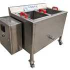 Food fryer stainless steel square fryer frying tank square