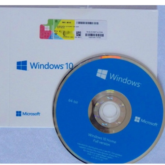 Professionele software windows 10 thuis DVD pakket computer software