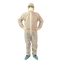 PP non woven protecting clothes, disposable coverall