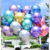 Factory direct sell Chrome 10inch 2.2g New arrival premium quality latex  metallic color balloon for decoration