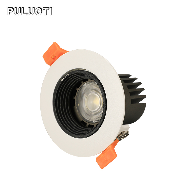 China manufacture aluminum 5w 7w indoor hotel restaurant recessed led spot light