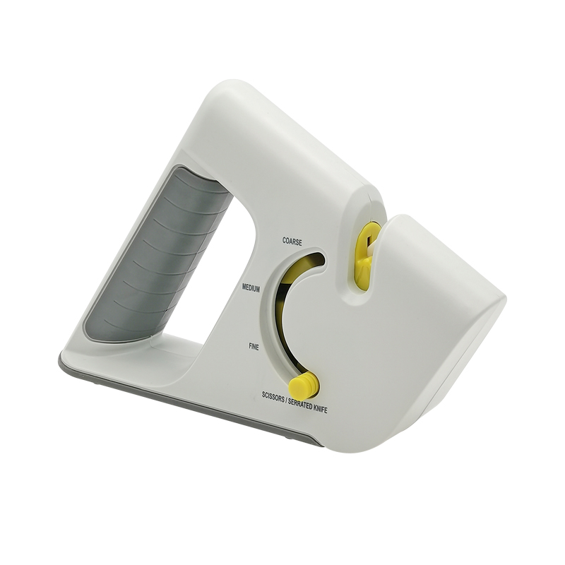 New model 4 Stages Non slip Rubber handle Knife Sharpener