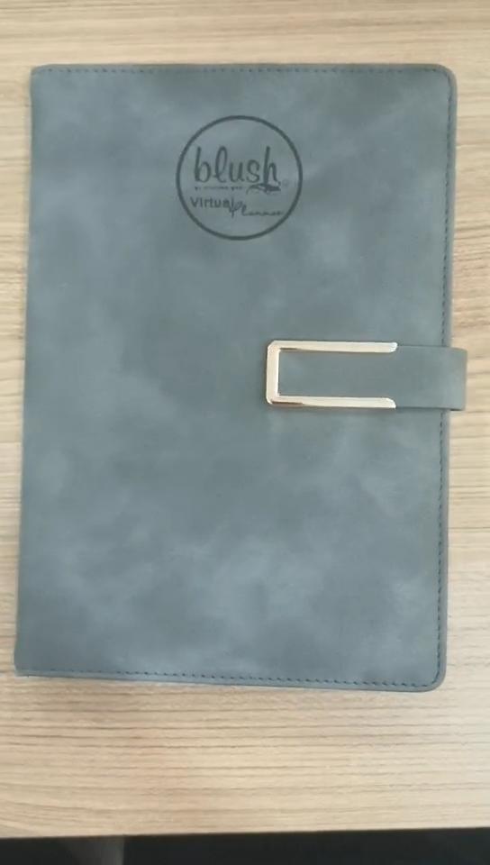 Venta al por mayor de papelería de oficina de moda de lujo alta calidad cuaderno de negocios planificador