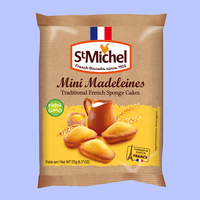 Classic Mini Madeleines cake 10-count, 175 grams, 12 bags / case