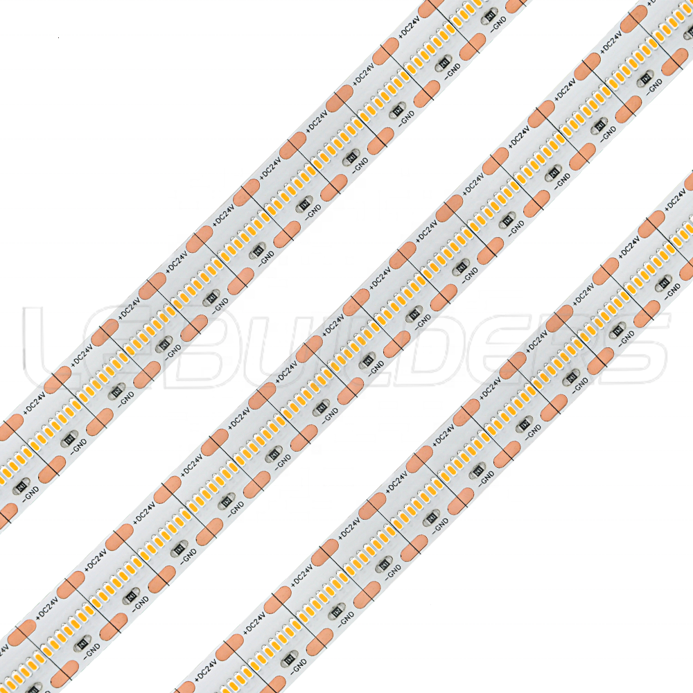 LEDBUILDERS High CRI95 1808 SMD 8mm 10mm wide 720leds/m LED strip light