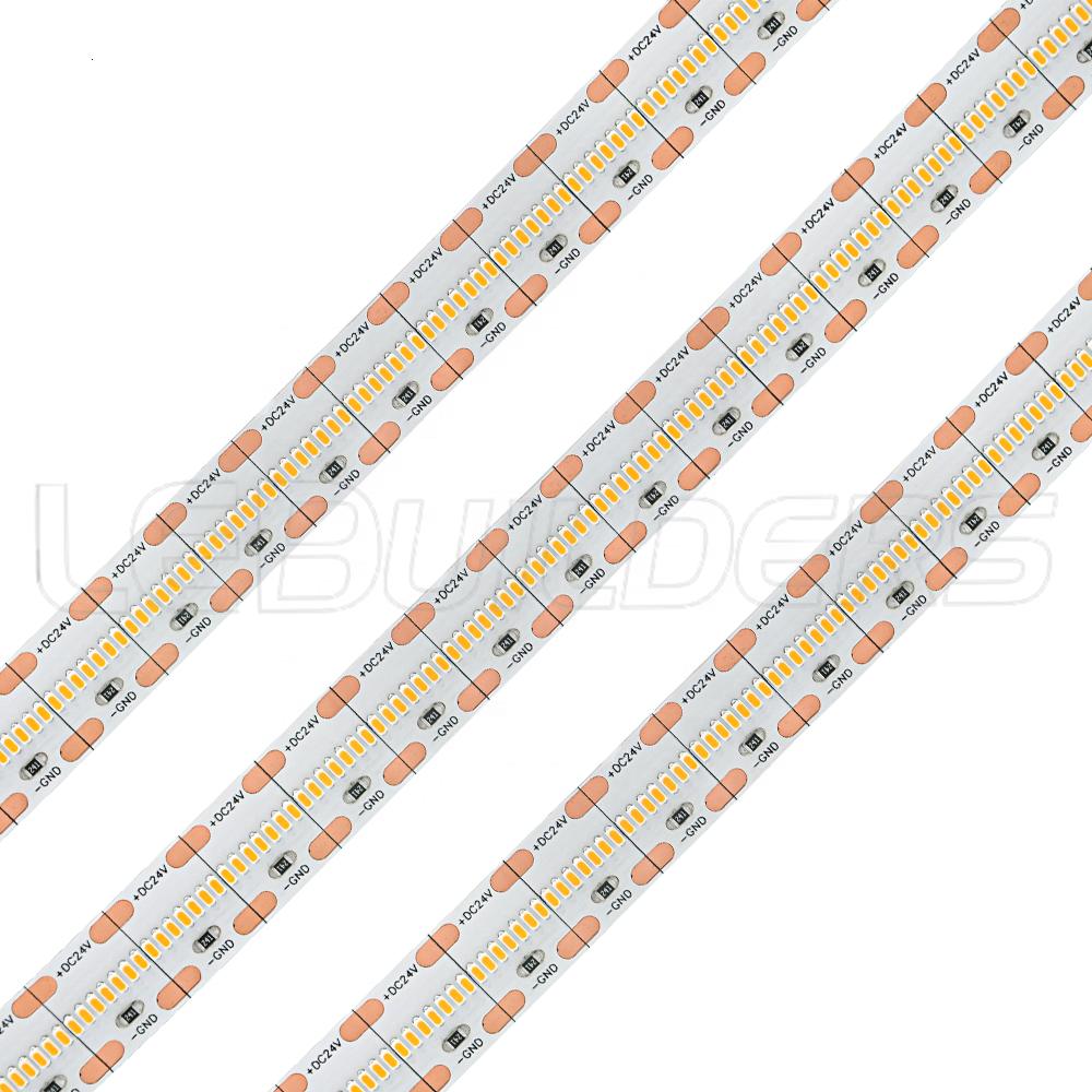LEDBUILDERS High CRI95 1808 SMD 8mm 10mm wide 720leds/m LED strip light