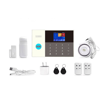 2019 Hot sale 3G wireless home security manual gsm smart alarm system