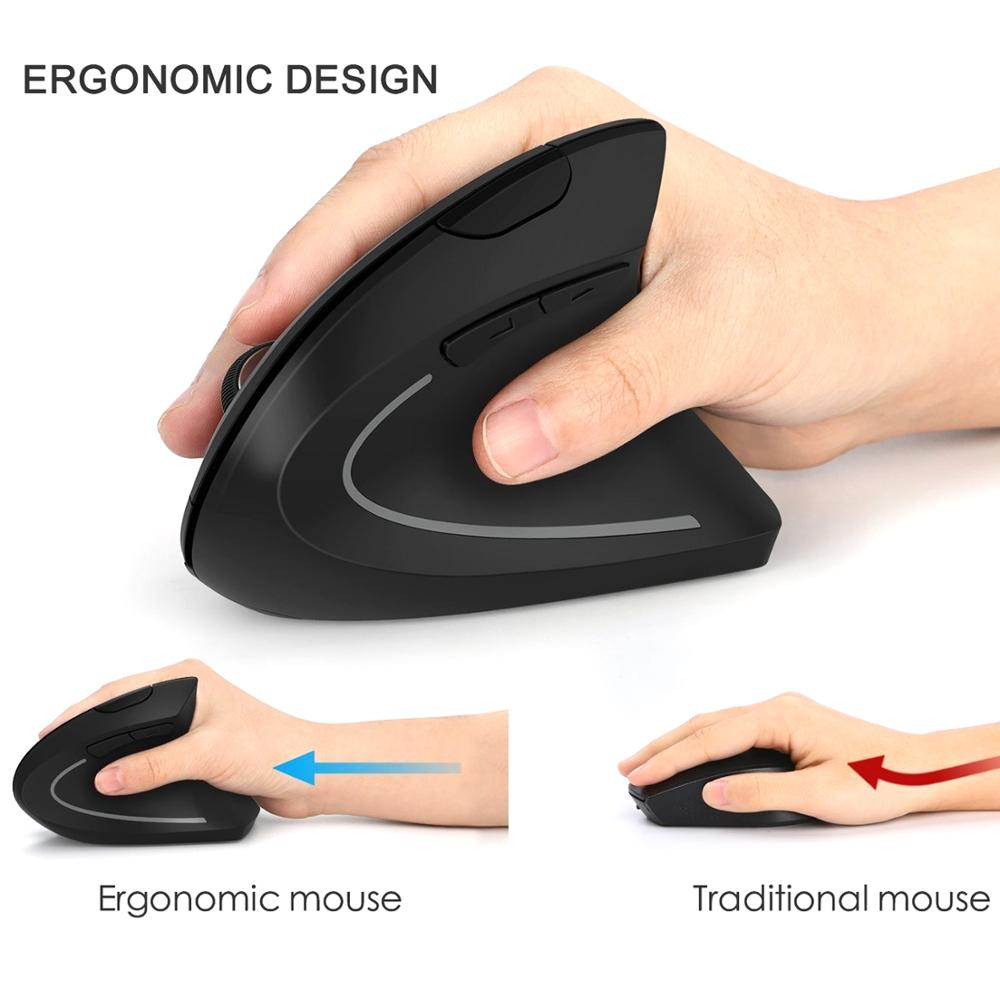 Newproducts 2019 electronics Special Design Computer <strong>USB</strong> Optical <strong>Wireless</strong> <strong>Mouse</strong> 6D Vertical Gaming Ergonomic <strong>Mouse</strong>