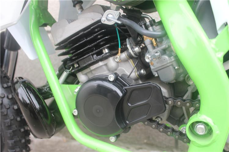 Koshine 50CC Motorfiets Dirt Bike Met Fastace Schorsing Cnc Wielen