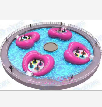 New developed project inflatable jumping bridge , amusement water games , water jumping trampoline for river