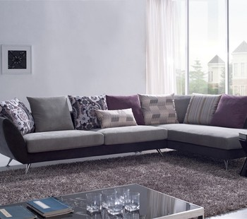 Kleine Hoekbank Stof.Nieuwe Model Goedkoopste Houten Sofa Set Kleine Stof Hoekbank Set