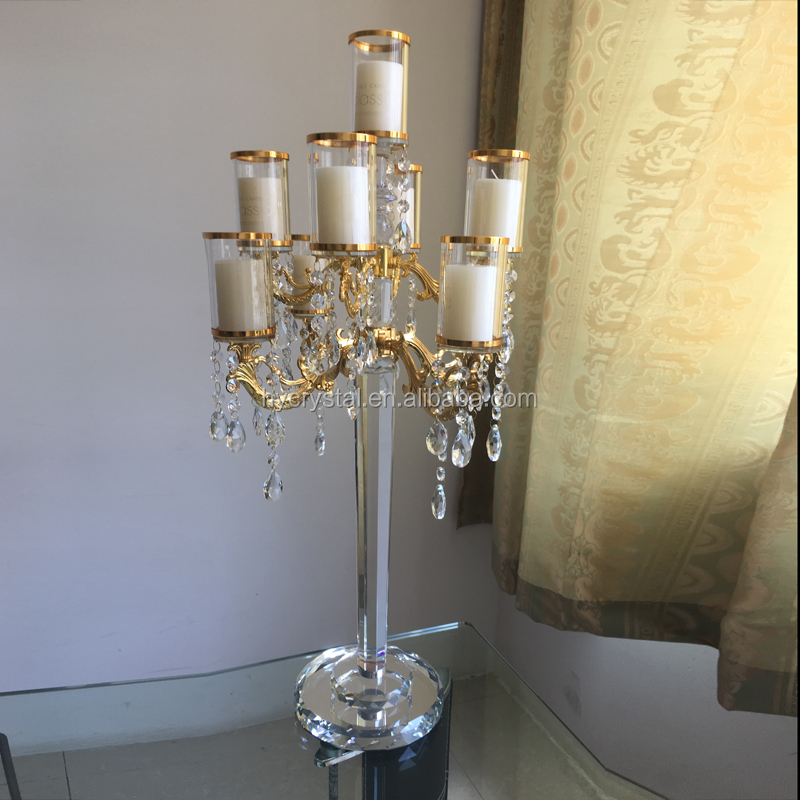 2019 New fashion wedding party candelabras and flower stands wholesale cheap