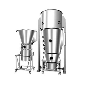 GMP pharmacy fluid bed dryer machine for drying medicine powder granule