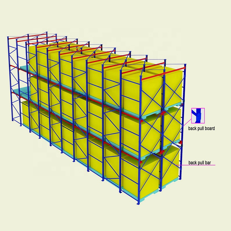 เย็น Heavy Duty DRIVE-in Pallet Racking System
