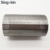 0.2mm 0.5mm 0.7mm slot size water well johnson wire screen well point screen