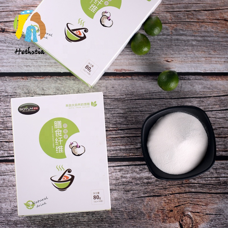 Konjac glucomannan powder slimming ชา