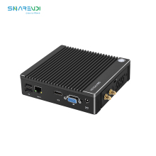 D'ODM d'usine sans ventilateur Mini PC Portable Win10 N2840 j1900 N3710 Ordinateur Windows10 Intel Mini PC