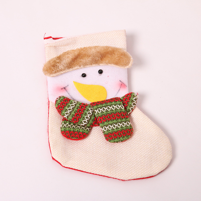 Soft cotton Colorful new products Christmas cute decoration Sock