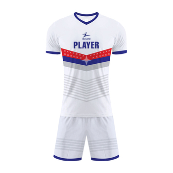 Thai Quality Sublimation Soccer Uniform Football Shirt Maker Soccer Jersey