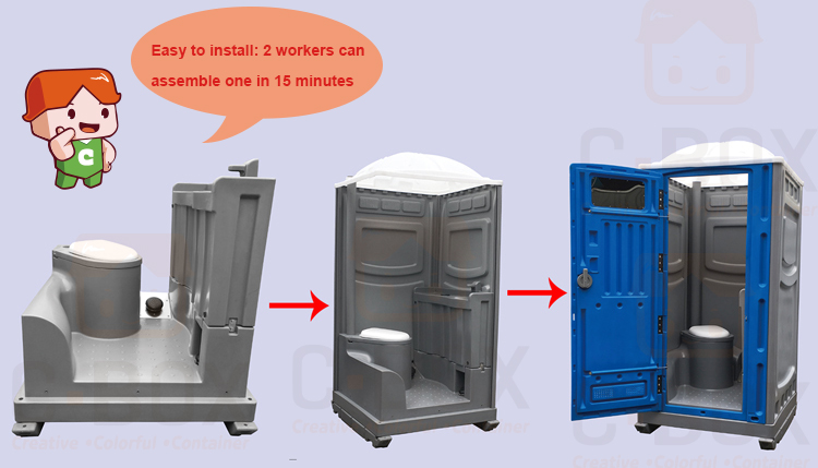Mobile Portable Toilet