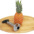 Hot Sale Stainless Steel Pineapple Slicer and Pineapple Corer Slicer Peeler Stainless Steel Kitchen Gadget