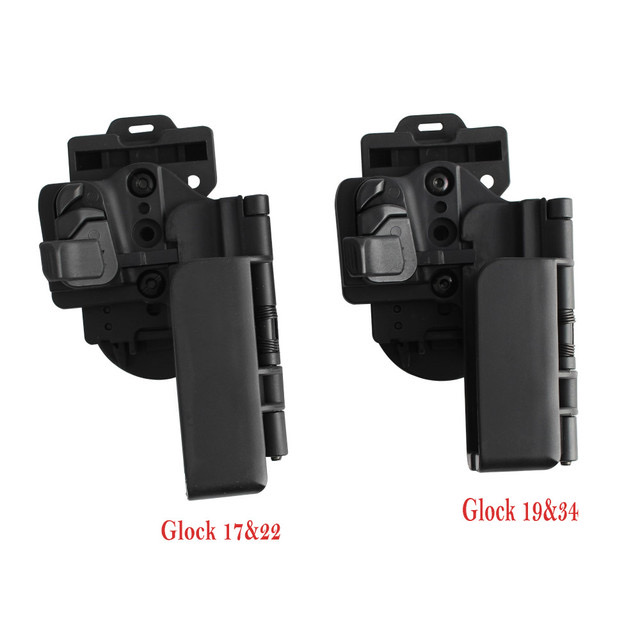 Tactical Level 3 Carry Quick Holster Right Hand Holster Fit for Glock 17 19 22 34 4.6