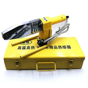 China makes high quality pipeline welding machine/PPR PE PVC pipe welder/Heat fusion device