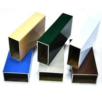 Customized Furniture Aluminium Profile Powder Coated Aluminum Tube modular Aluminum Profile